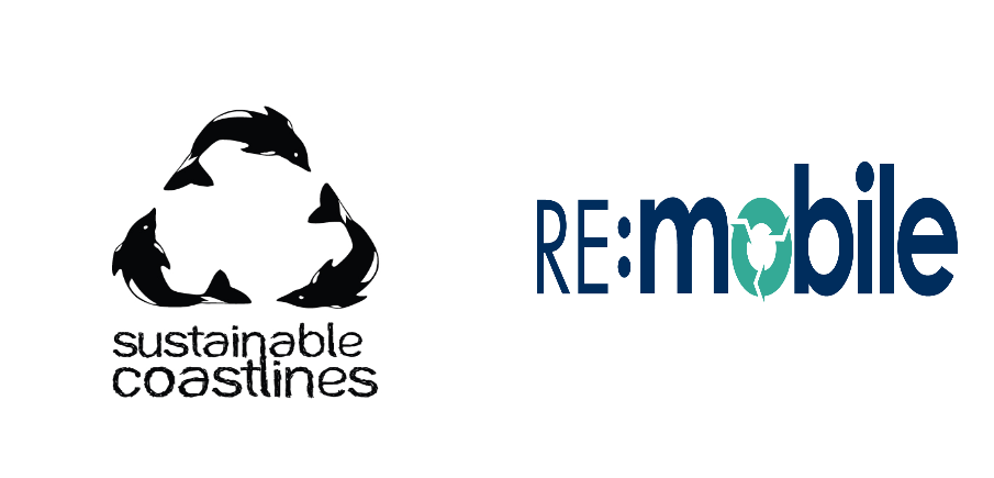 Support Sustainable Coastlines through the RE:Mobile recycling scheme.